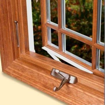 wood laminated windows
