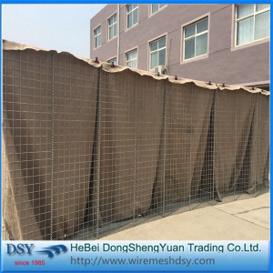Military Hesco Security Wall Barrier Bags