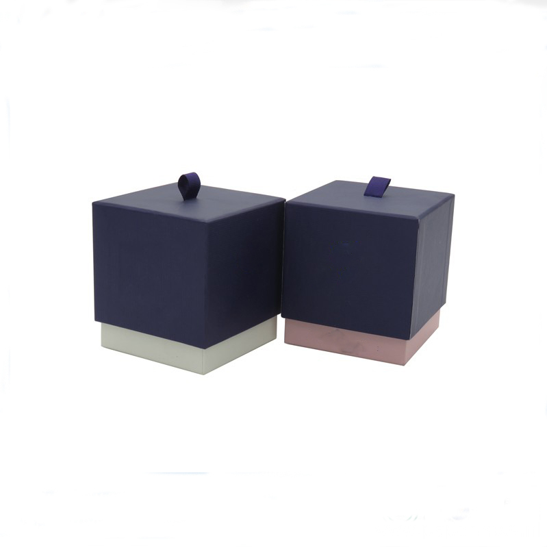 Silk Screen Logo Printing Paper Box Candle Packaging