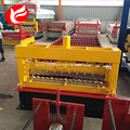 Corrugated colored steel sheet roofing forming machine