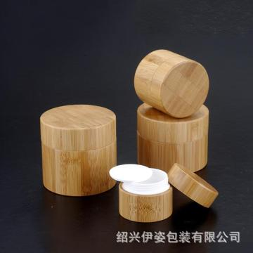 Whole Cover Bamboo Bottle with Glass Lnner