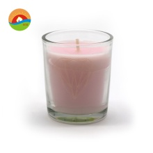 Hot sale luxury Scented Organic Soy Glass Candle
