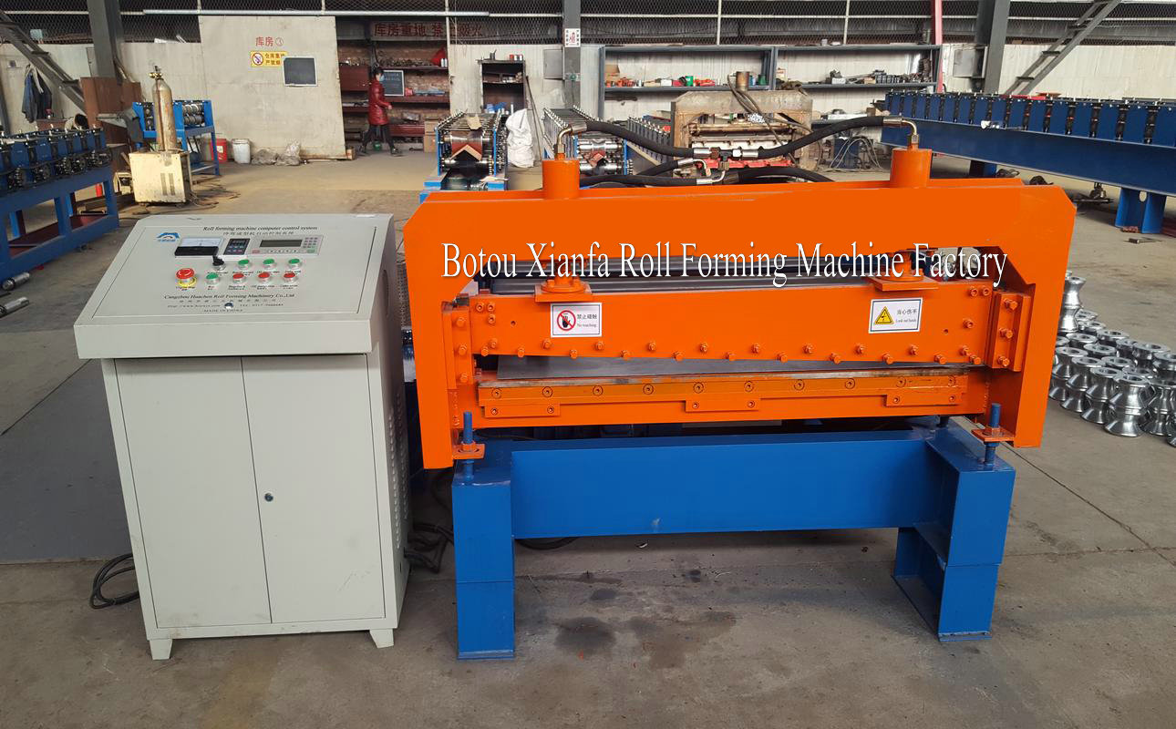 flattening and cutting machine