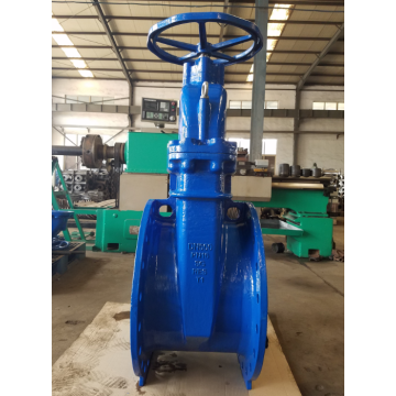 Handwheel large diameter gate valve