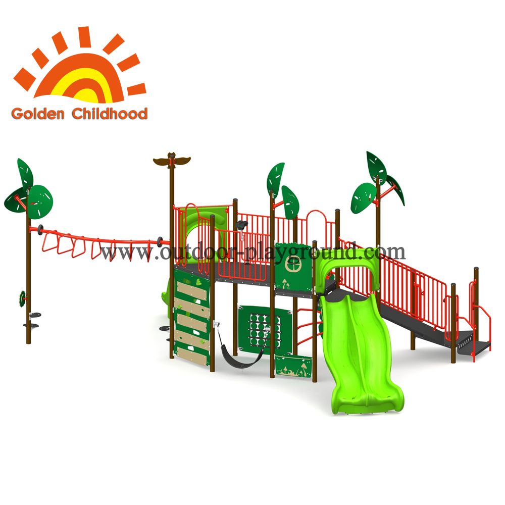 Rainforest Outdoor Playground Equipment