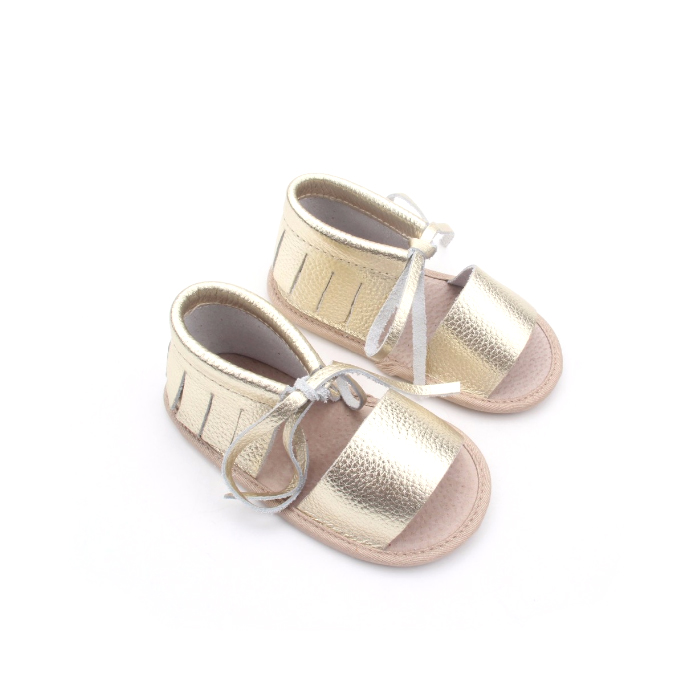 2017 Summer Leather Baby Sandals