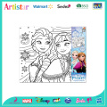 DISNEY FROZEN canvas coloring set