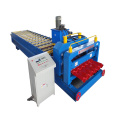 Archaistic Glazed Tile Color Steel Roll Forming Machine