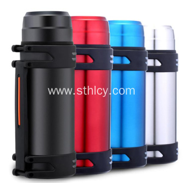2.0L Large Capacity Outdoor Stainless Steel Sports Bottle
