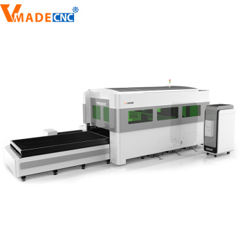 Alloy Steel Covering Fiber Laser Cutting Machine