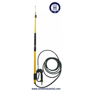 "24 ft 4000 PSI Pressure Washer Telescoping Wand Assembly 3/8"" Inlet 1/4"" Outlet"