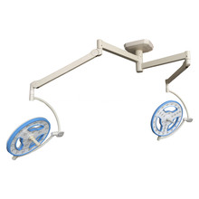Dual head hollow led surgical lamp