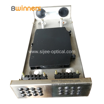 24 Fiber Intdoor Fiber Optic Termination Box