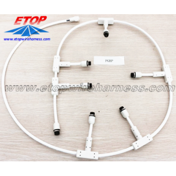 Manufactur standard for waterproofing cables overmolding Light System Cable Assembly supply to Netherlands Importers