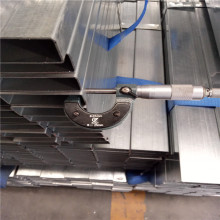 Bottom price for China Galvanized Square Tube, Square Tube, Galvanized Plumbing And  Galvanized Tubes Factory 25x25 Galvanized Square Steel Pipe export to Ethiopia Manufacturer