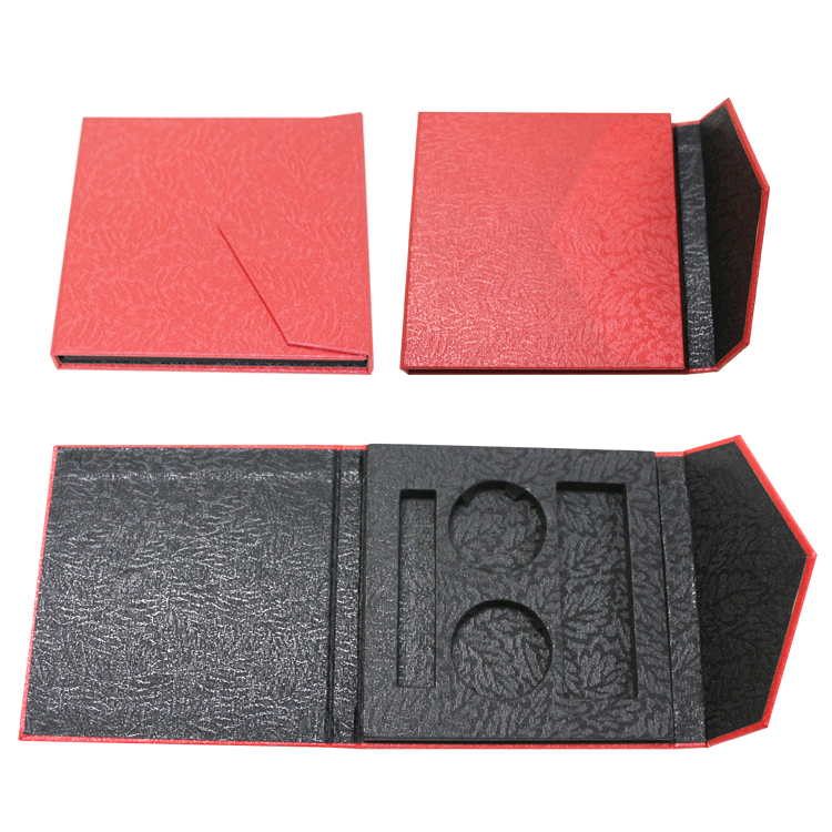Red Eyeshadow Cardboard Boxes