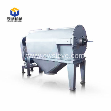 horizontal centrifugal sifter for small particles