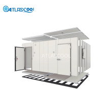 Prefabricated movable cold room with bitzer compressor