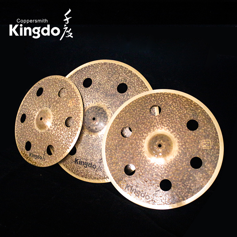 Effect Cymbals With Holes