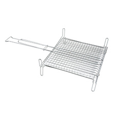 Steel plat plate wire grill oven rack