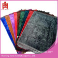 Thick embossed mink muslim prayer mats hotsale