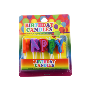 Fancy Unique Letters Birthday Candles