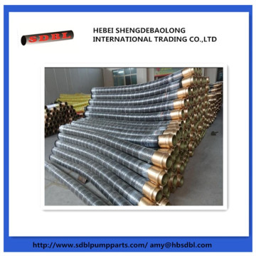 Concrete pump flexible hose pipe