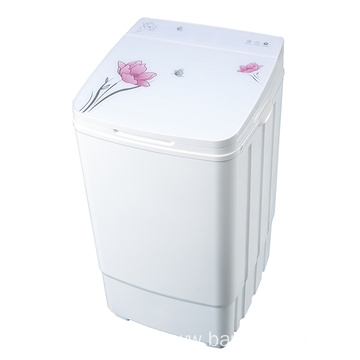 Cute Glass Cover 9KG Capacity Single Tub Washer