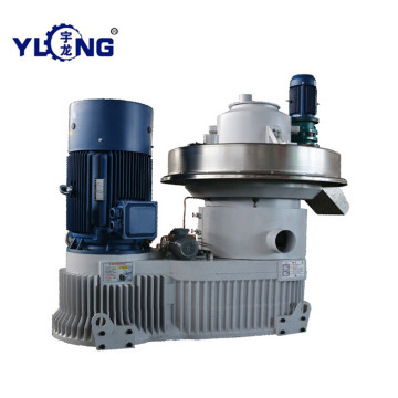 YULONG XGJ560 Peanut shell pellet machine for sale