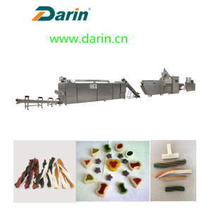 Factory making for Pet Treats Extruding Line,Pet Food Making Machine,Dog Treats Extruding Line Manufacturer in China Pet Treats Dog Chew Food Processing Line supply to Liechtenstein Suppliers