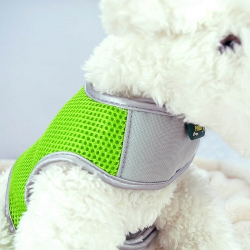 Green XS Airflow Mesh Harness with Velcro