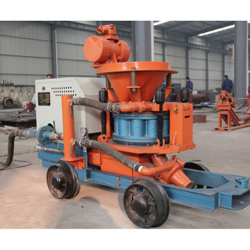Construction Machinery For Sprayed Concrete In Engineering