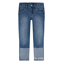 Hot Sale for Wholesale Children'S Blended Capris Wholesale Child Clothing Soft Boys' Denim Capri Pants export to Christmas Island Wholesale