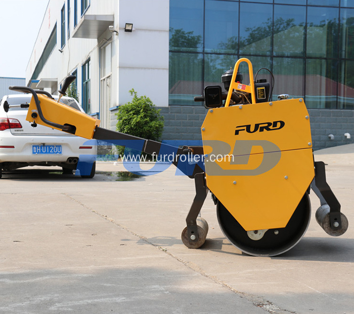 Self Propelled Hand Vibratory Steel Wheel Roller
