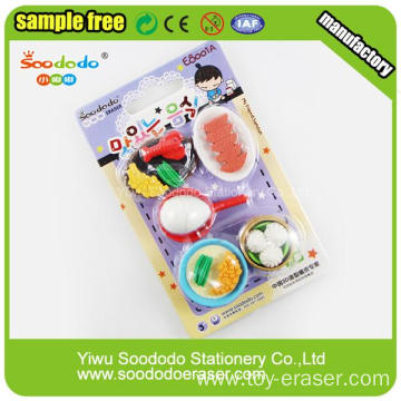 delicious cookies erasers for kids promotional