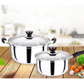 Stainless Steel Cookware Set With Two Pieces