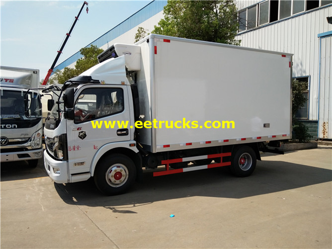 Dongfeng Insulated Box Trucks
