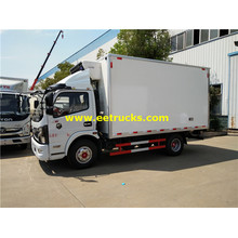 Dongfeng 150HP Insulated Box Trucks