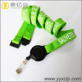 High quality fabric special cloth funny logo lanyard