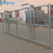 PVC Coated Security Iron Sliding Gate Designs for Home