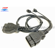 right-angle HDMI to J1962 OBD2 cable