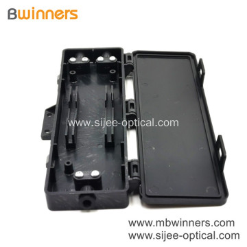 Fiber Optic Termination Box 2 Port Wall Mount Ip30 Protection