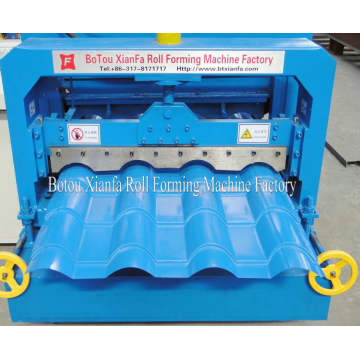 Beautiful Glazed Tile Roll Forming Machine