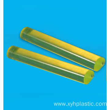 Transparent yellow PU bar