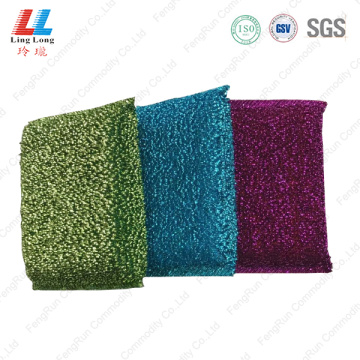 Charming silver cleaning sponge