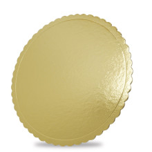 China Gold Supplier for Paper Lid Customzied golden cake board supply to Aruba Wholesale