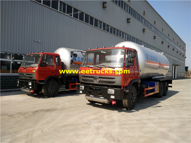 25 CBM LPG Delivery Tankers