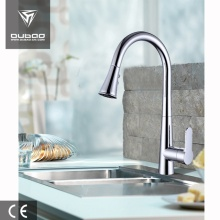 Polished Chrome Deck Mount Single Handle Kitchen Tap
