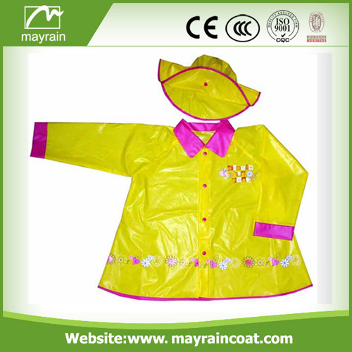 Colorful Raincoat for Children