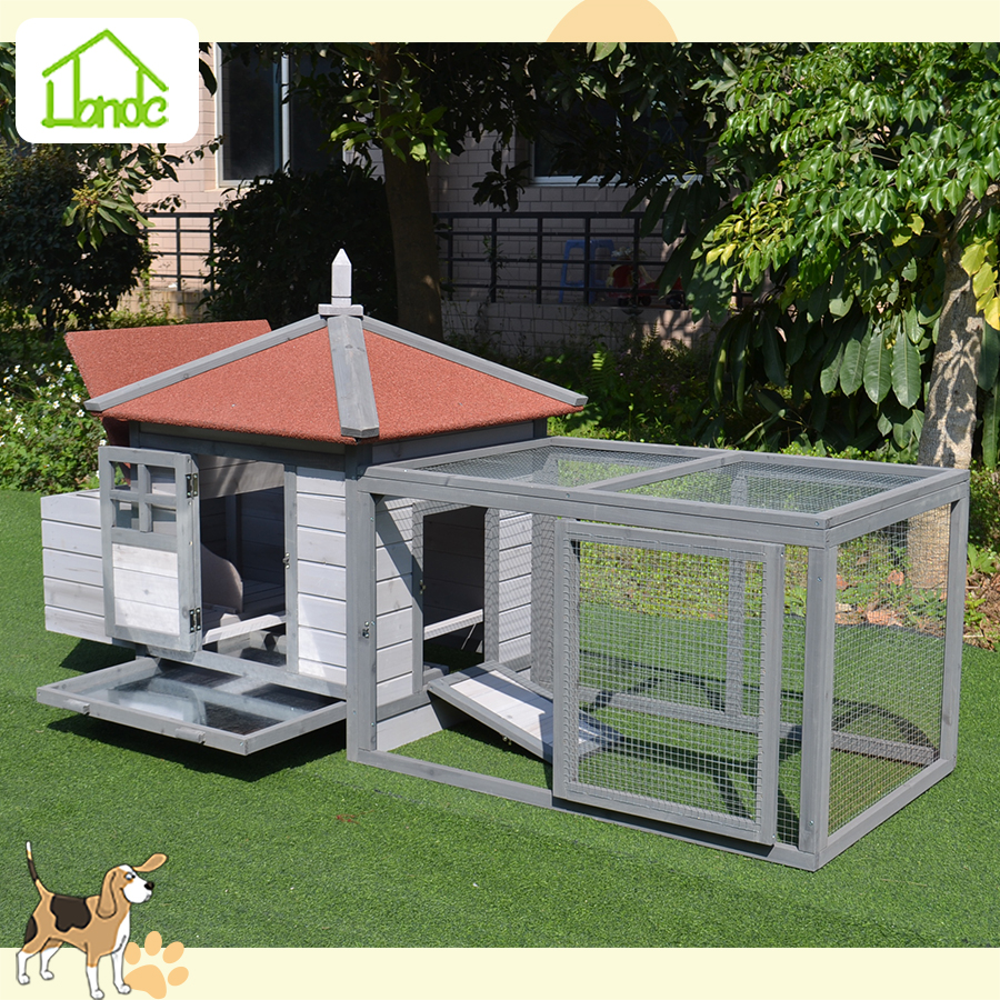 High quality outdoor large wooden chicken coop for sale